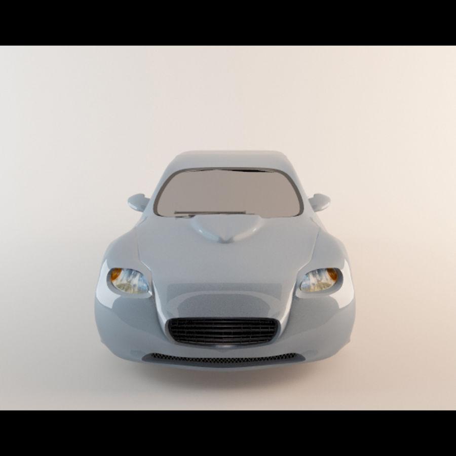 Автомобиль royalty-free 3d model - Preview no. 4