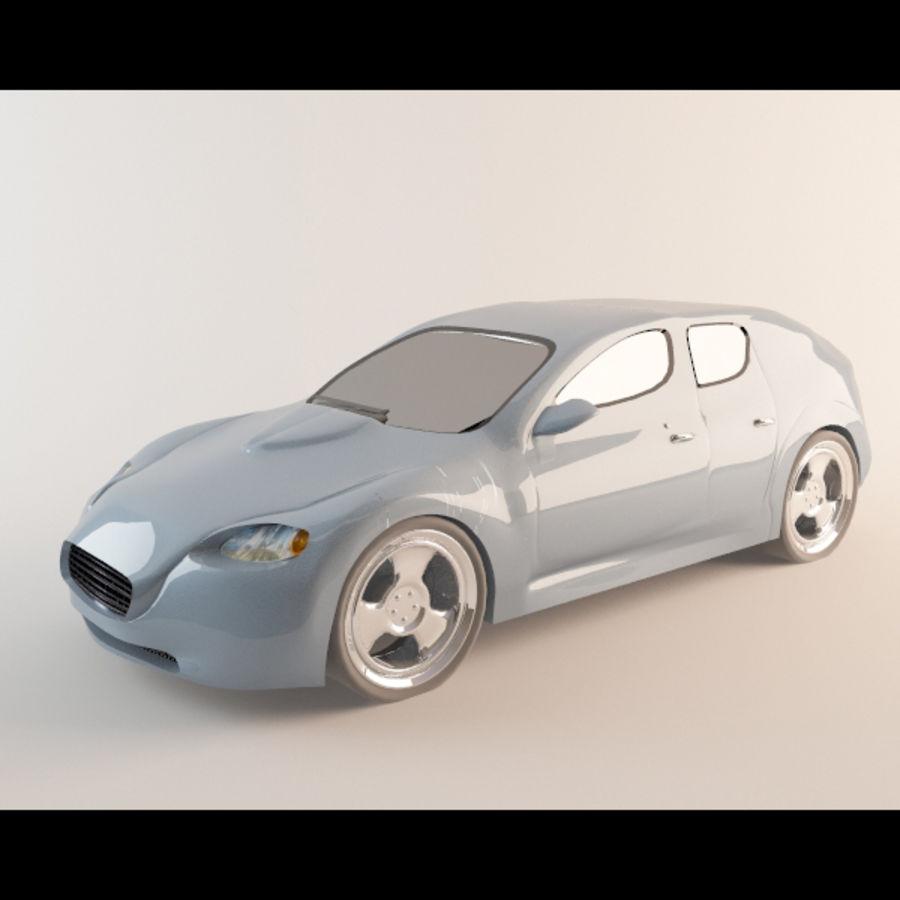 Автомобиль royalty-free 3d model - Preview no. 1