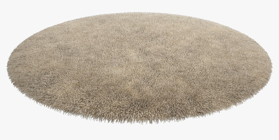 Rug Round royalty-free 3d model - Preview no. 4