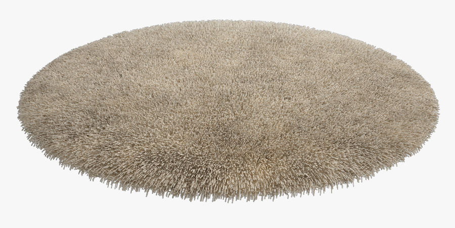Rug Round royalty-free 3d model - Preview no. 3