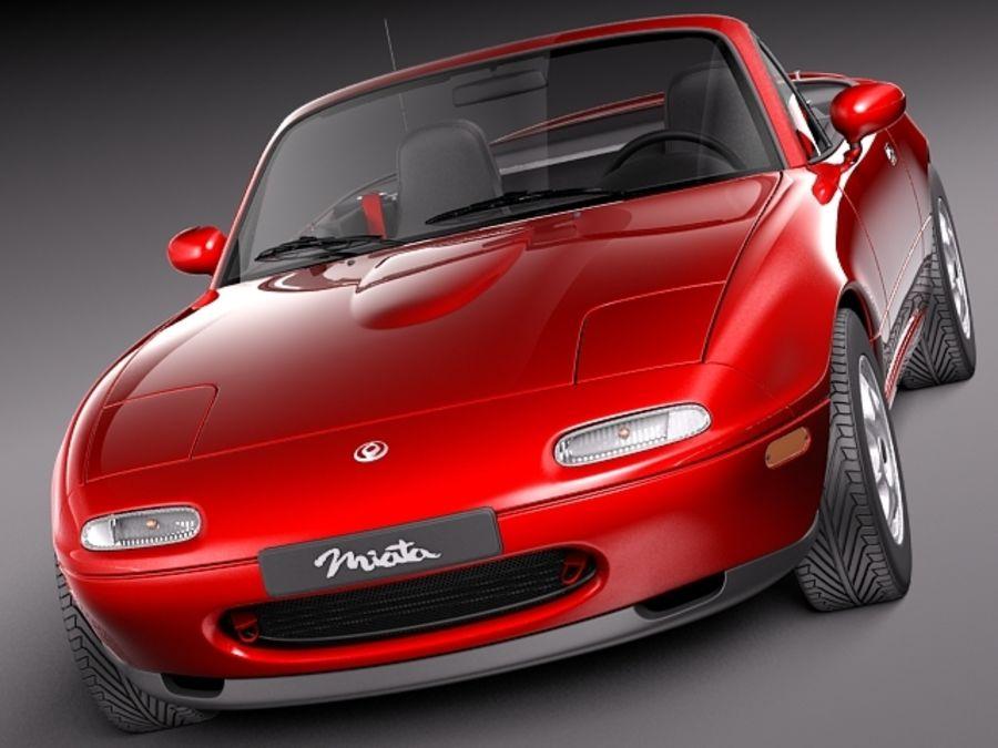 Mazda MX-5 Miata 1989-1997 3D Model $129 - .3ds .obj .max .lwo .fbx ...
