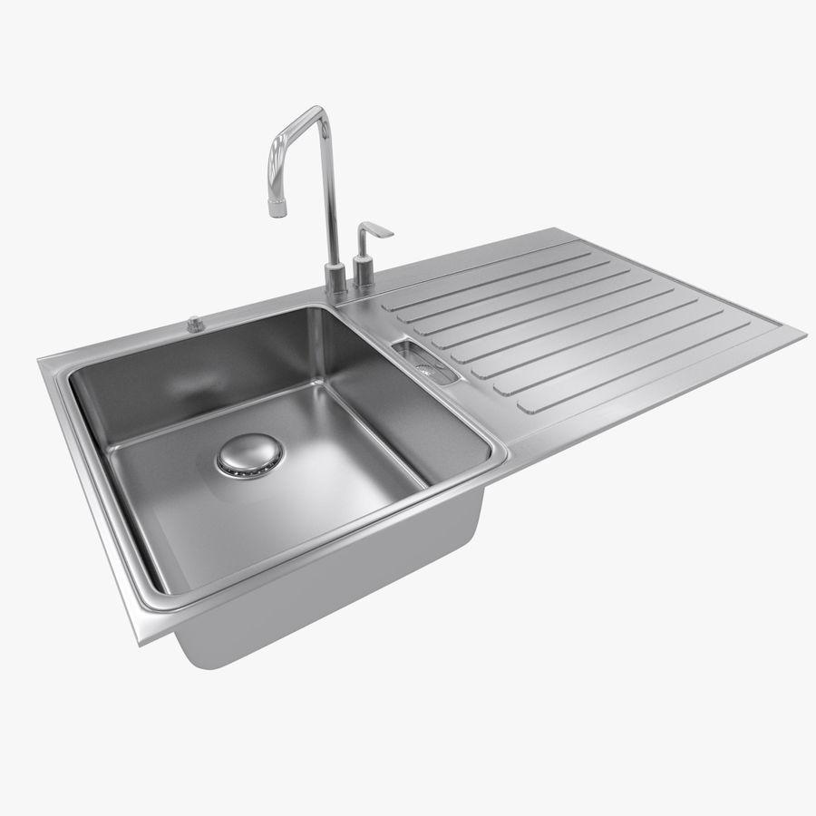 Kitchen Sink Model: Kitchen Sink 3D Model $19