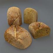 half bread 3d model