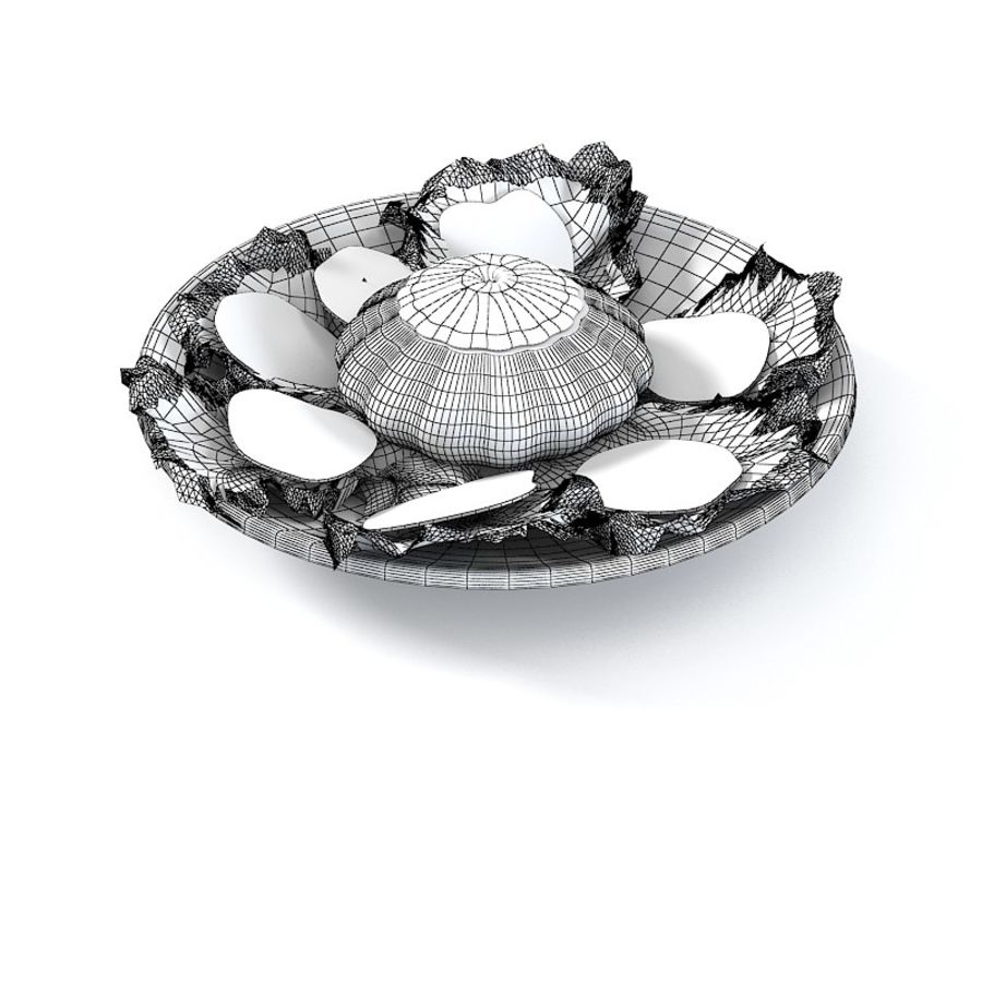 Summer Dish royalty-free 3d model - Preview no. 4