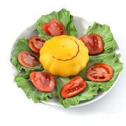 Summer Dish 3d model