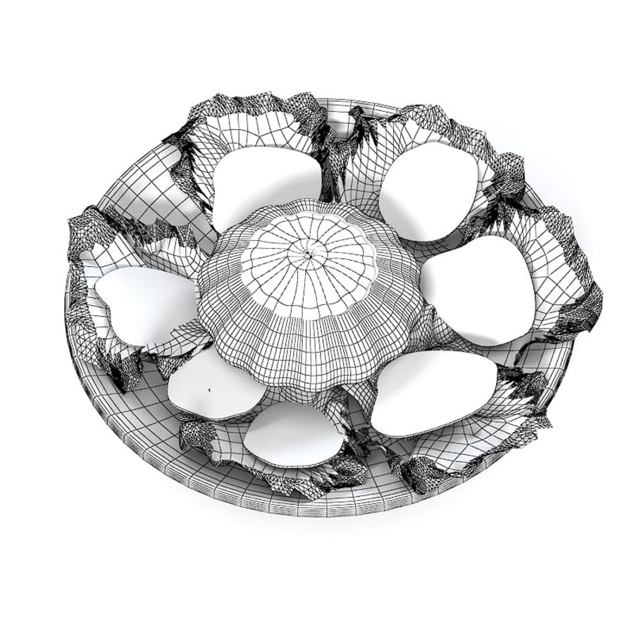 Summer Dish royalty-free 3d model - Preview no. 5