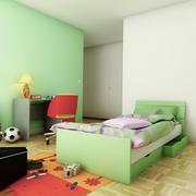 Bed Child 3d model
