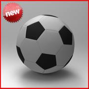 サッカーボール 3d model