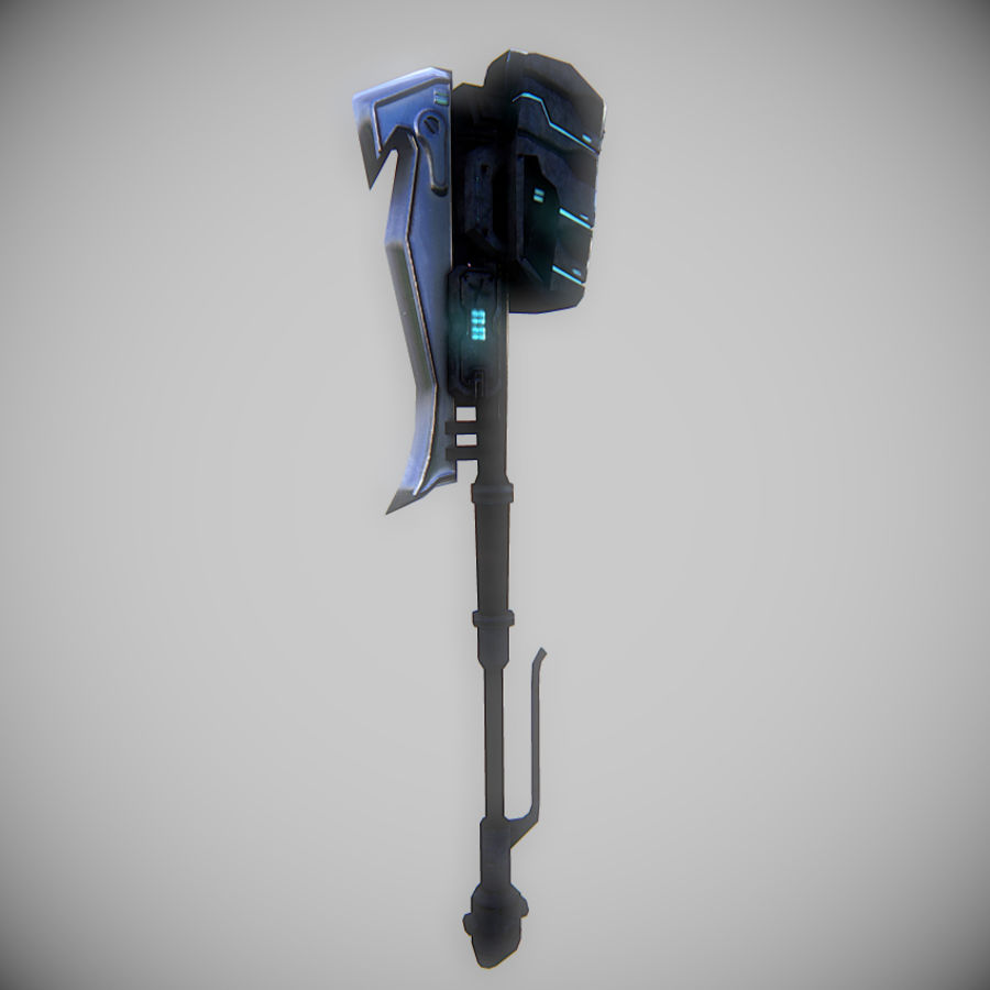 Gravity Hammer royalty-free 3d model - Preview no. 3