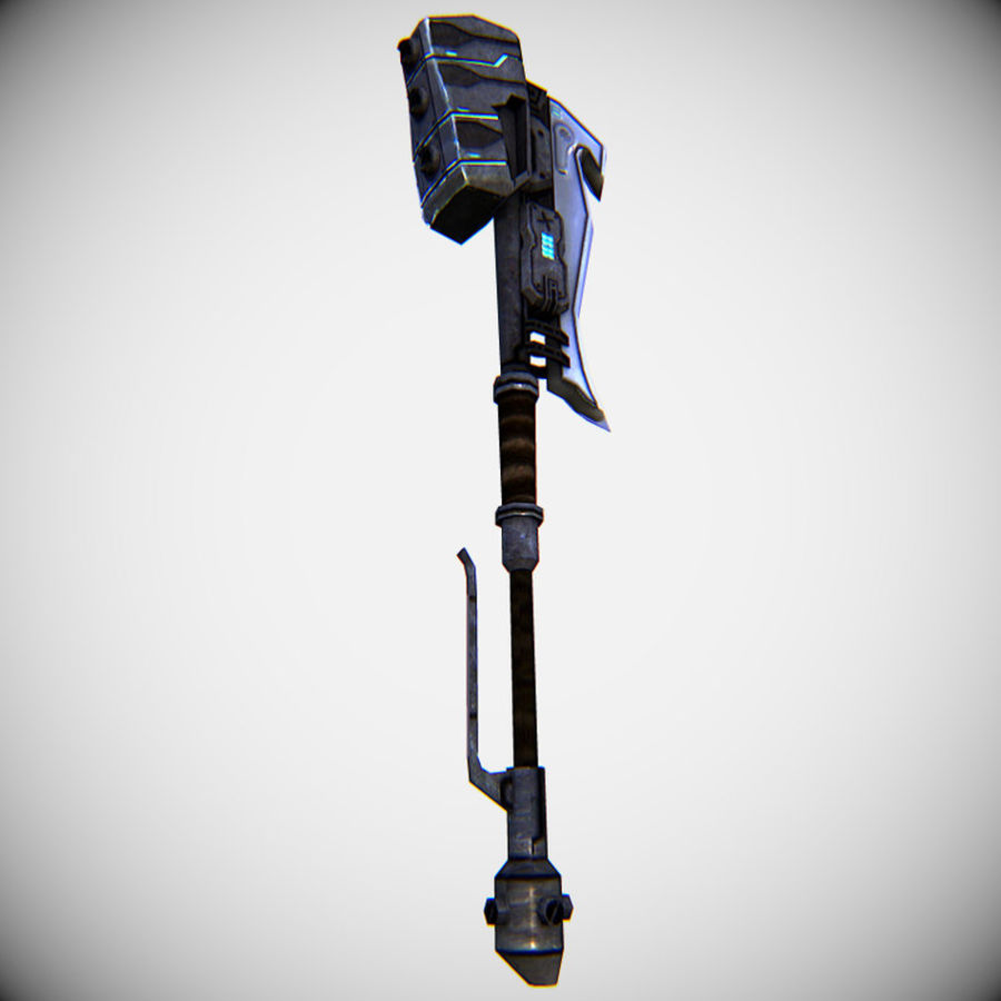 Gravity Hammer royalty-free 3d model - Preview no. 6