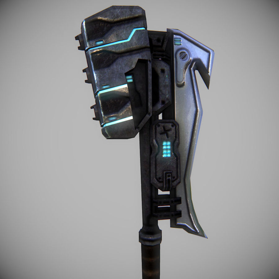 Gravity Hammer royalty-free 3d model - Preview no. 5