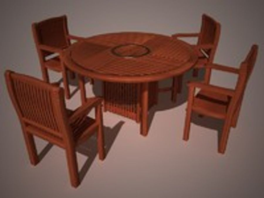 garden furniture 3d model 3 c4d free3d. Black Bedroom Furniture Sets. Home Design Ideas