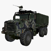 military vehicle 3d model