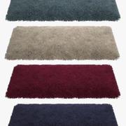 地毯蓬松02 3d model