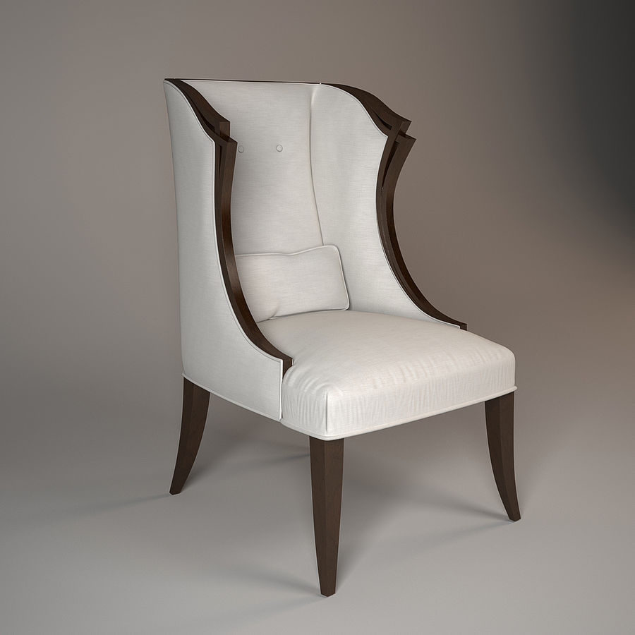 3 Christopher Guy Armchair 30 0060 Royalty Free 3d Model   Preview No.