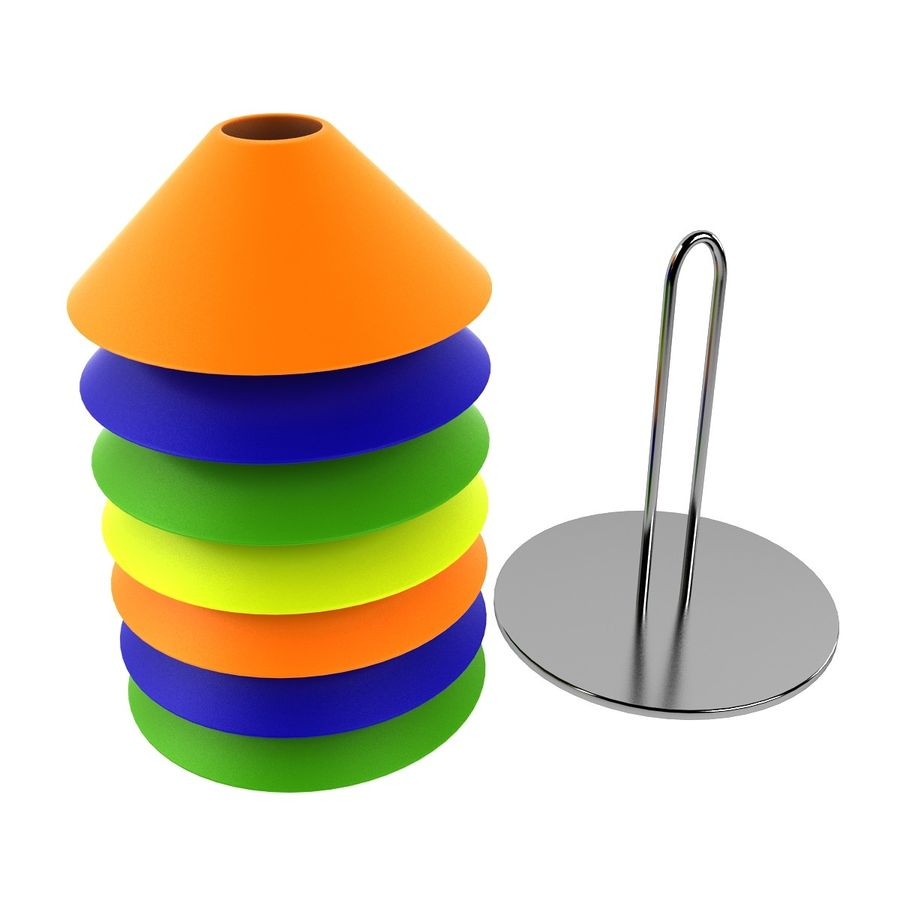 Training Cones 3d Model 24 Obj Max Fbx Dxf 3ds Free3d Cone Royalty Free Preview No 4