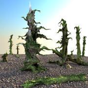 Сухие деревья 3d model