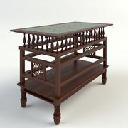 MOROCCAN TABLE- Vray Materials 3d model