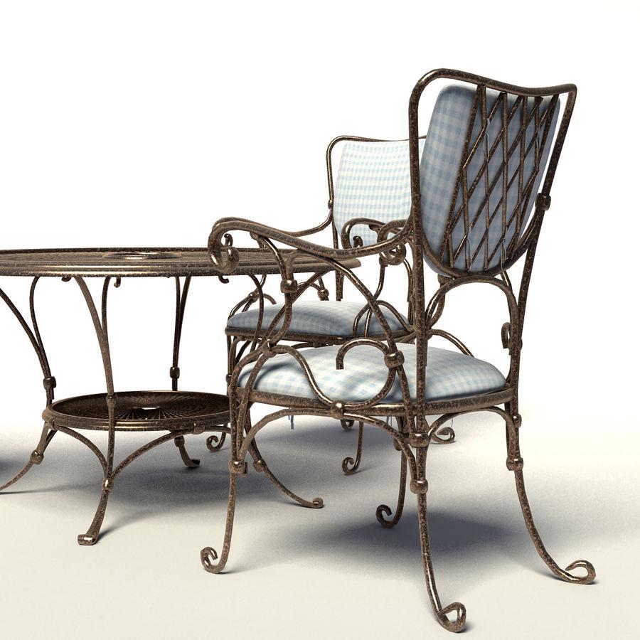 Smidda möbler royalty-free 3d model - Preview no. 2