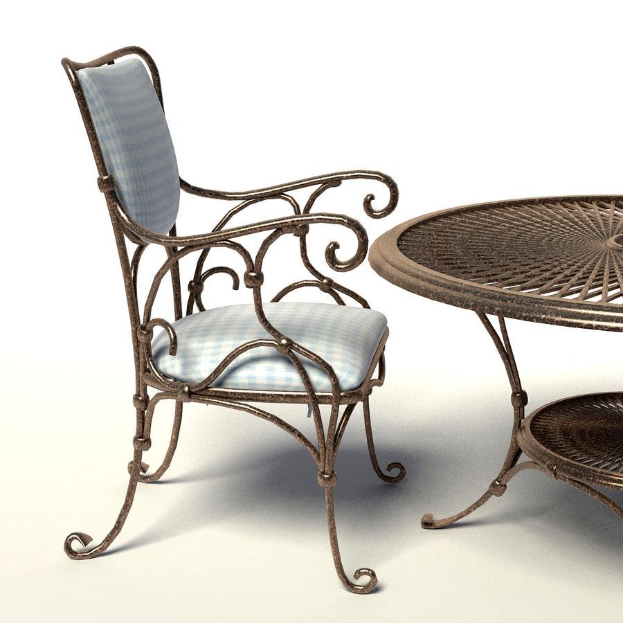 Smidda möbler royalty-free 3d model - Preview no. 3