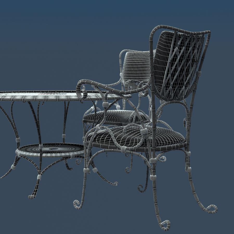 Smidda möbler royalty-free 3d model - Preview no. 8