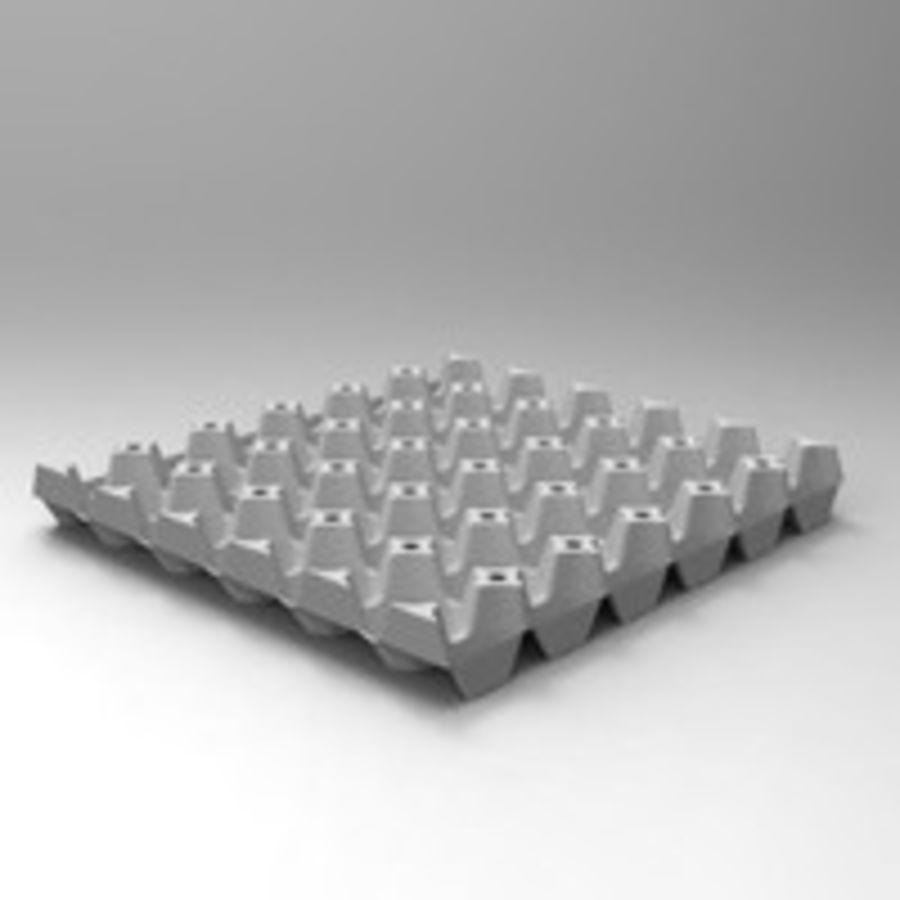 Egg tray 3D Model $18 -  ma  obj  max  fbx - Free3D