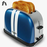 Toaster Russell Hobbs 3d model
