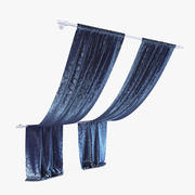 Curtains 08 3d model