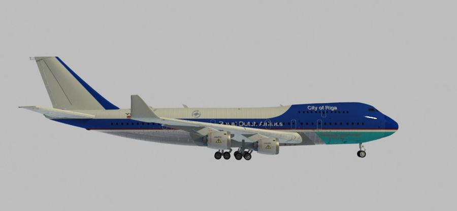 Avion royalty-free 3d model - Preview no. 2