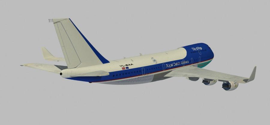 Avion royalty-free 3d model - Preview no. 1