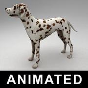 Dalmatian rigged 3d model