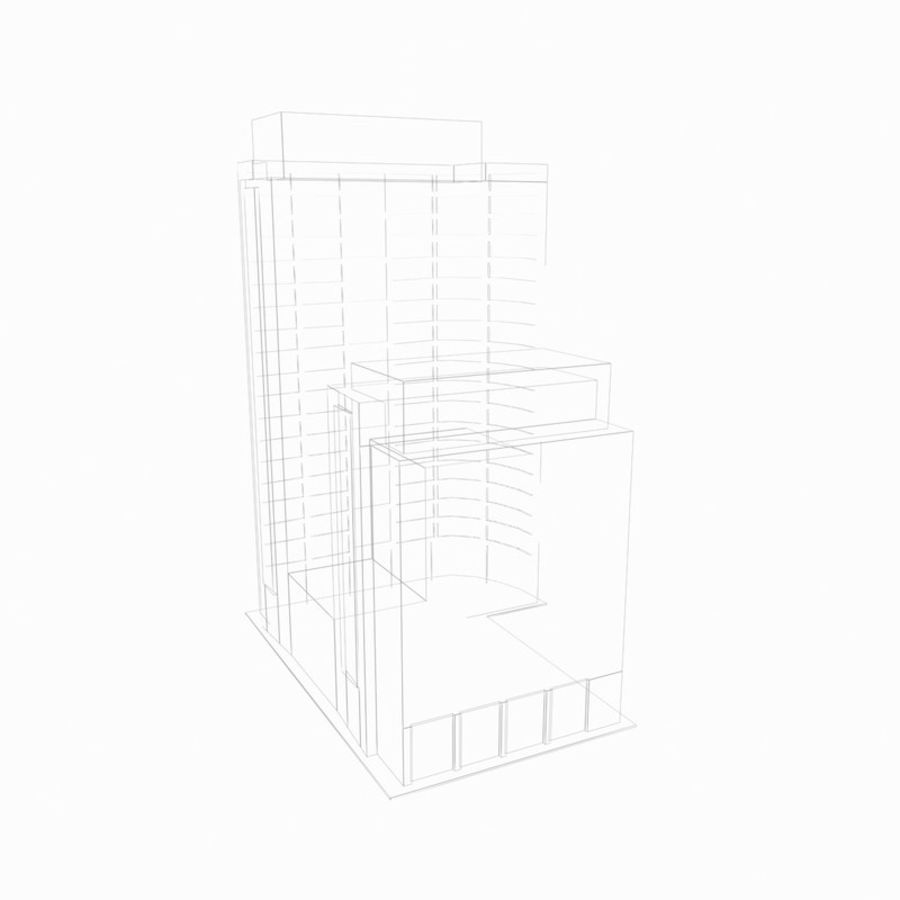 Building 017 royalty-free 3d model - Preview no. 4