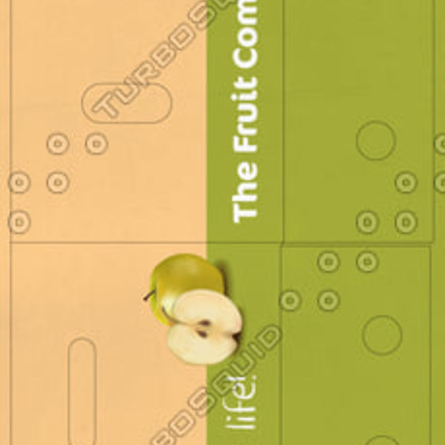 Fruit & Vegetable Box (Large) royalty-free 3d model - Preview no. 5
