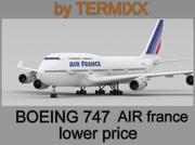 Boeing 747 AIR france 3d model
