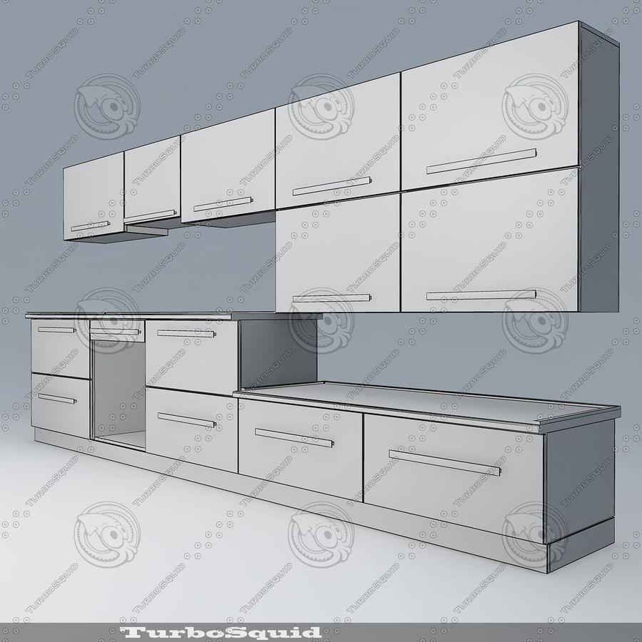 Kitchen furnitures 01 3D Model $6 - .obj .max .fbx .dwg .3ds .oth ...