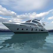 Yacht 03 3d model