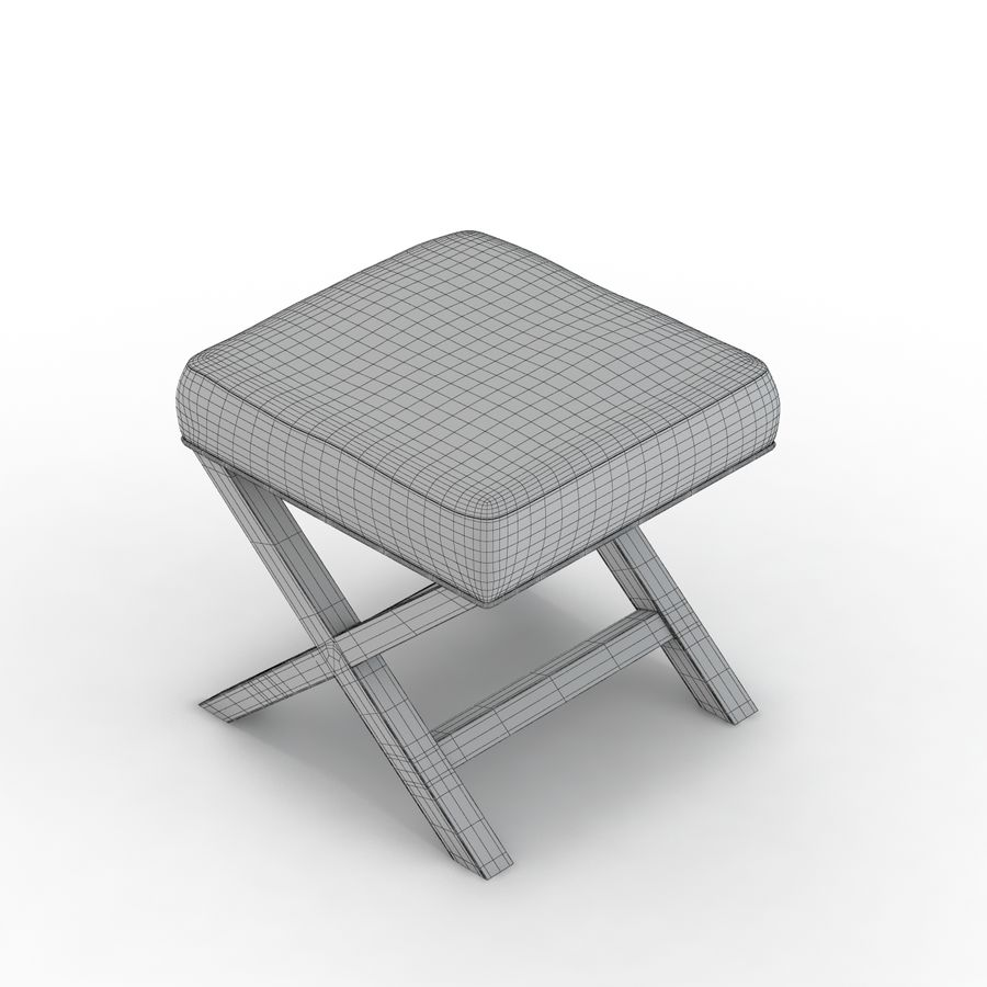 Fantastic Crate And Barrel X Base Bench Vanity Stool 3D Model 19 Dailytribune Chair Design For Home Dailytribuneorg