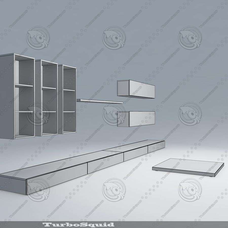 Living furnitures 09 royalty-free 3d model - Preview no. 12