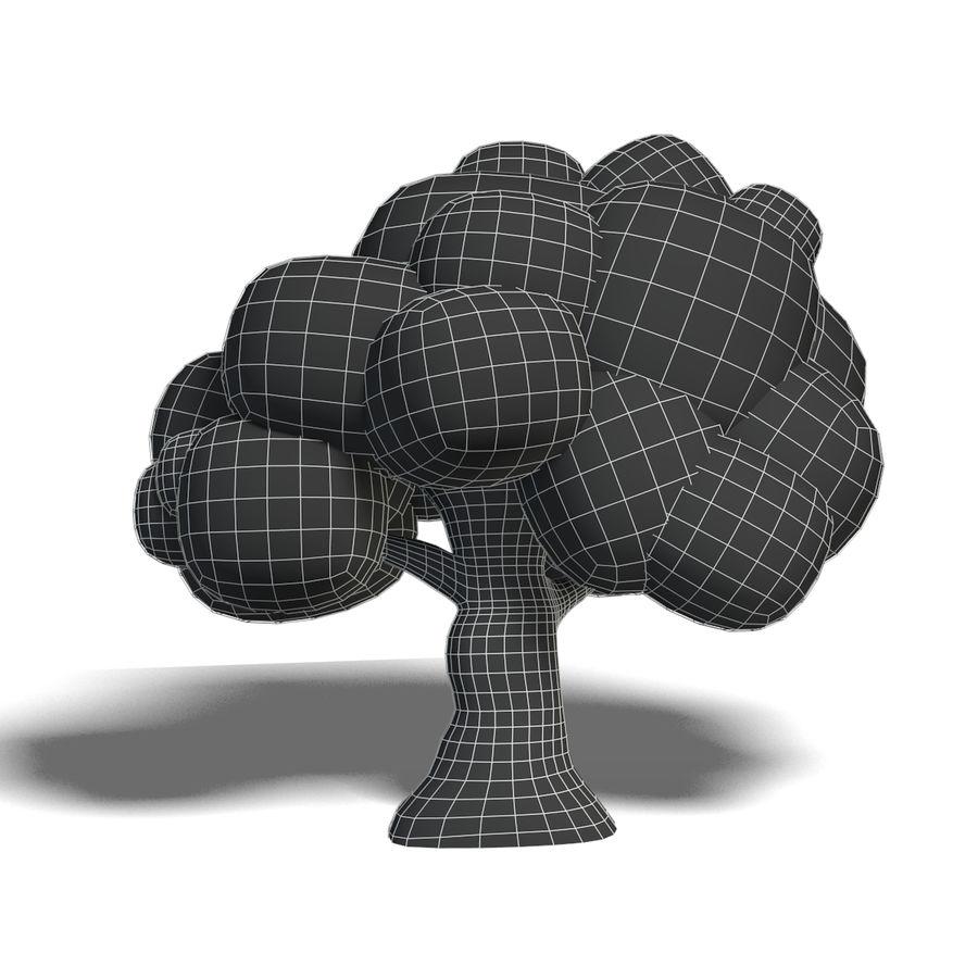 Drzewo Cartoon royalty-free 3d model - Preview no. 5