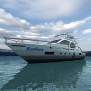 Yacht 04 3d model