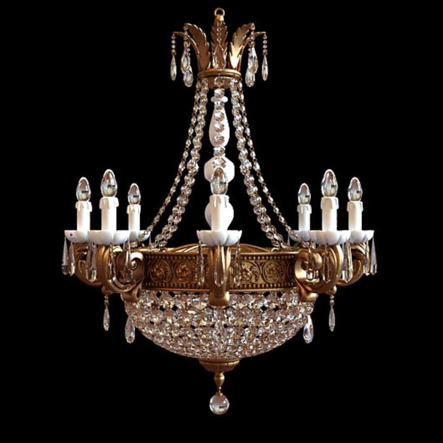 Chandelier 3d model 19 x free3d chandelier royalty free 3d model preview no 1 aloadofball