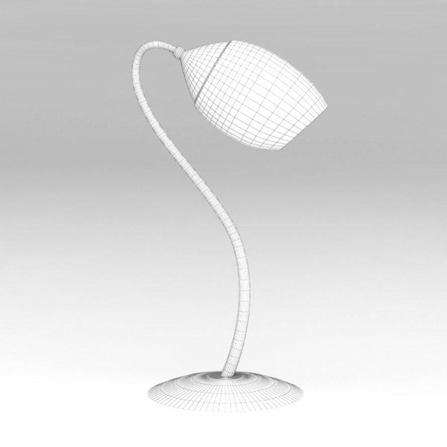 Lamp table124 royalty-free 3d model - Preview no. 5