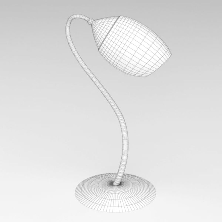Lamp table124 royalty-free 3d model - Preview no. 6