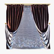 Curtains 10 3d model