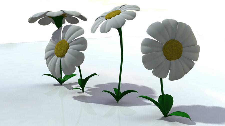 Çiçekler royalty-free 3d model - Preview no. 3