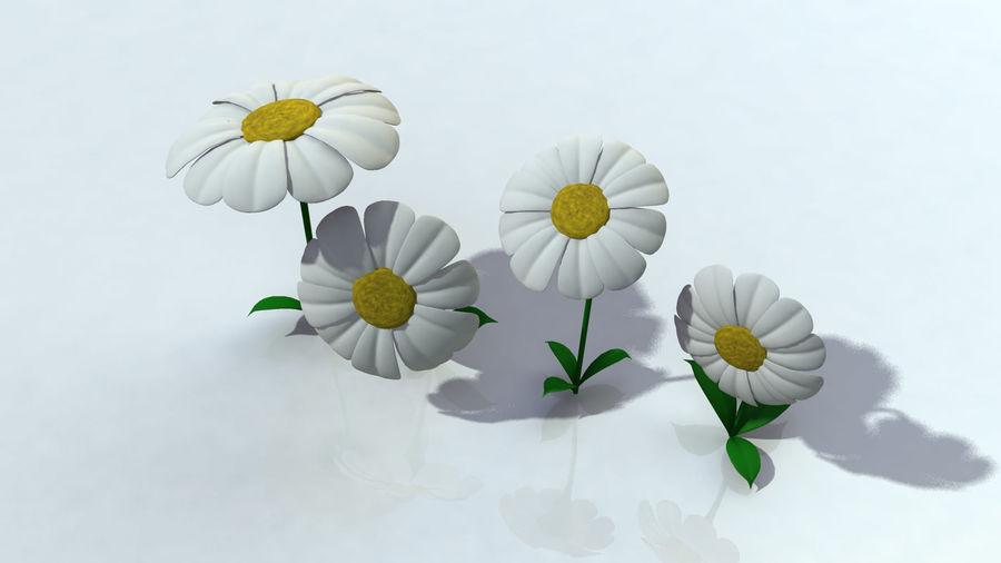 Çiçekler royalty-free 3d model - Preview no. 2