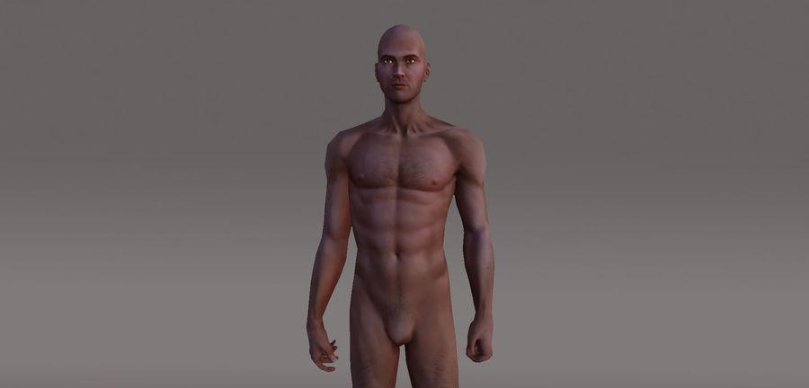 Menselijk geanimeerd karakter royalty-free 3d model - Preview no. 2
