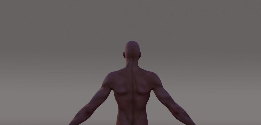 Menselijk geanimeerd karakter royalty-free 3d model - Preview no. 3
