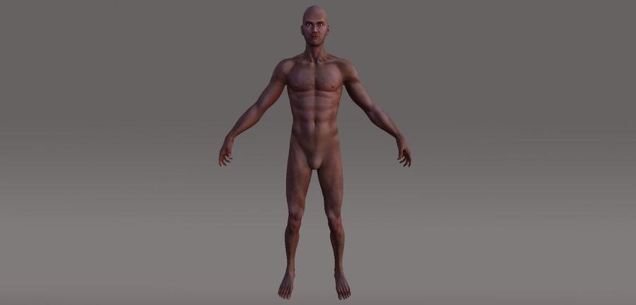 Menselijk geanimeerd karakter royalty-free 3d model - Preview no. 4