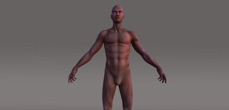 Menselijk geanimeerd karakter royalty-free 3d model - Preview no. 1